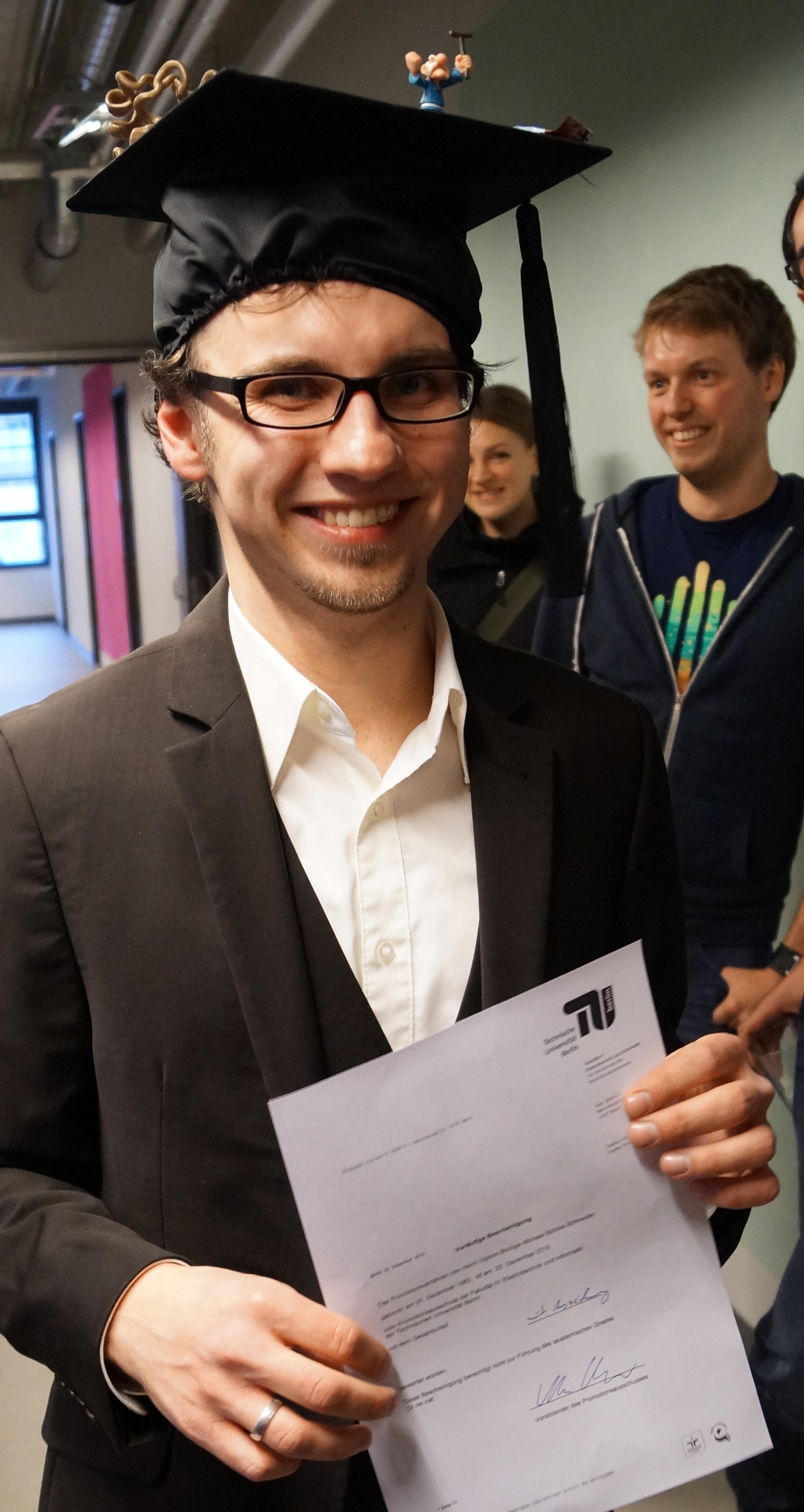 """phd thesis tu berlin The dissertation office accepts dissertations approved by the doctoral committee  as part of the scientific defense and """"habilitationsschriften"""" (post-doctoral."""