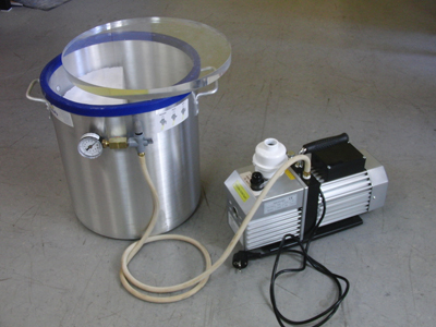 Homemade Vacuum Chamber For Casting Ftempo